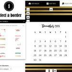Select a calendar template