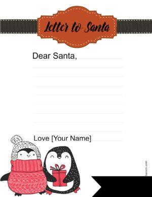 Send Christmas list to Santa