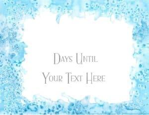 countdown printable