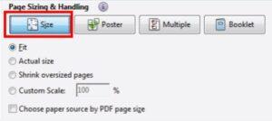 Adobe settings