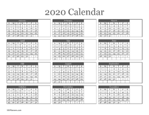 Microsoft calendar template
