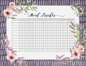 Printable tracker