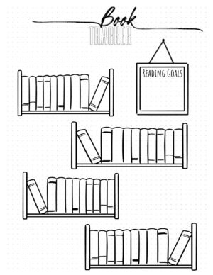 Reading log with reading goals