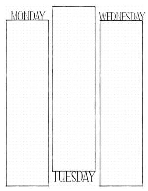 Make a calendar journal notebook