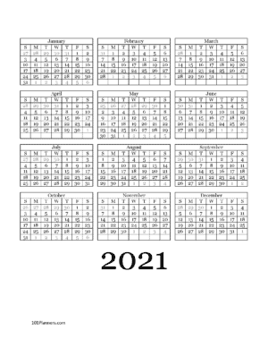 Year at a glance 2021