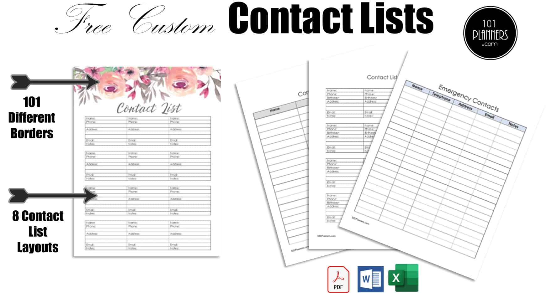 15/09/2017· in a phone log template, you'd need to record the source of the call for approaching calls, the goal of the call for active calls, the begin and end time of the calls and other data, for example, the qualities of the transmission or the call. Free Editable Contact List Template Editable Pdf Word Image