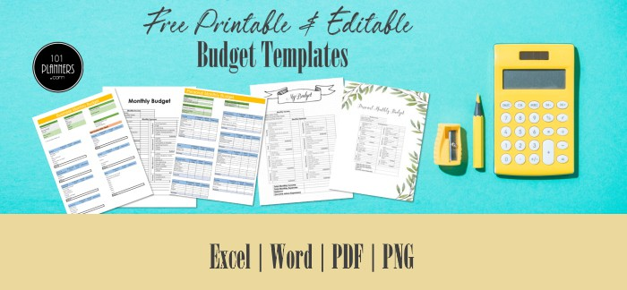 Budget templates