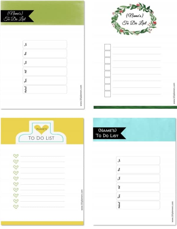 Free Printable To Do List Template Print Or Use Online