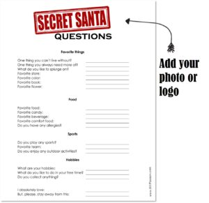 Office Secret Santa Questions