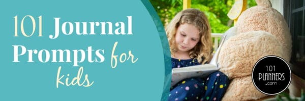 101 Journal Prompts for Kids