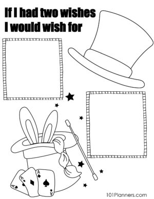 If I had 2 wishes I would wish for