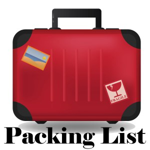 Select packing list option