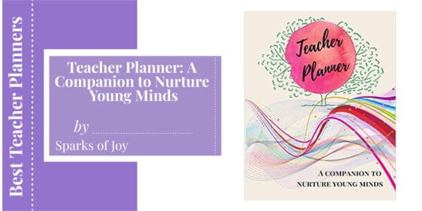Teacher Planner- A Companion to Nurture Young Minds