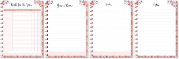 goals and reflection printables