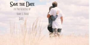Create a save the date