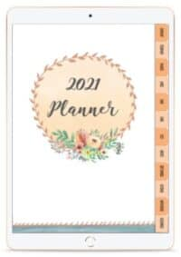 2021 planner digital and printable