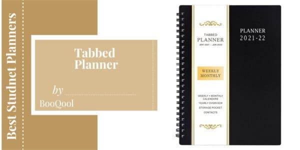 tabbed planner