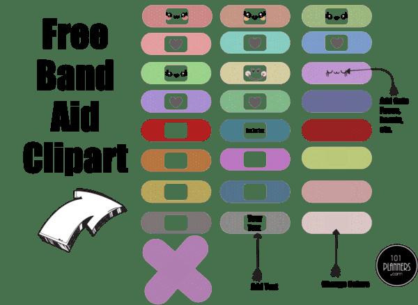 Band Aid Clipart