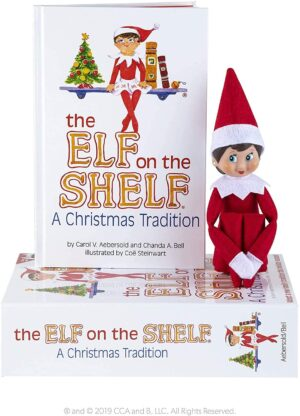 Girl Elf on the Shelf