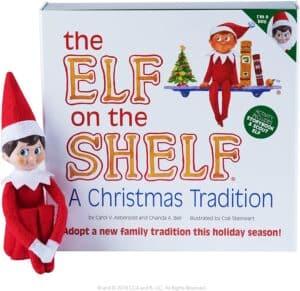 Boy Elf on the Shelf