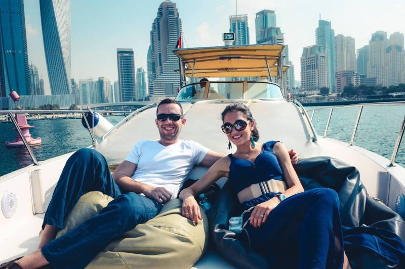 Разходка с яхта в Дубай