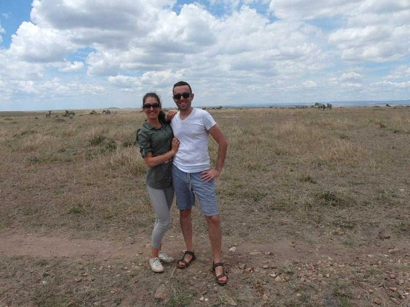 Пикник сред природата в Масай Мара, Кения