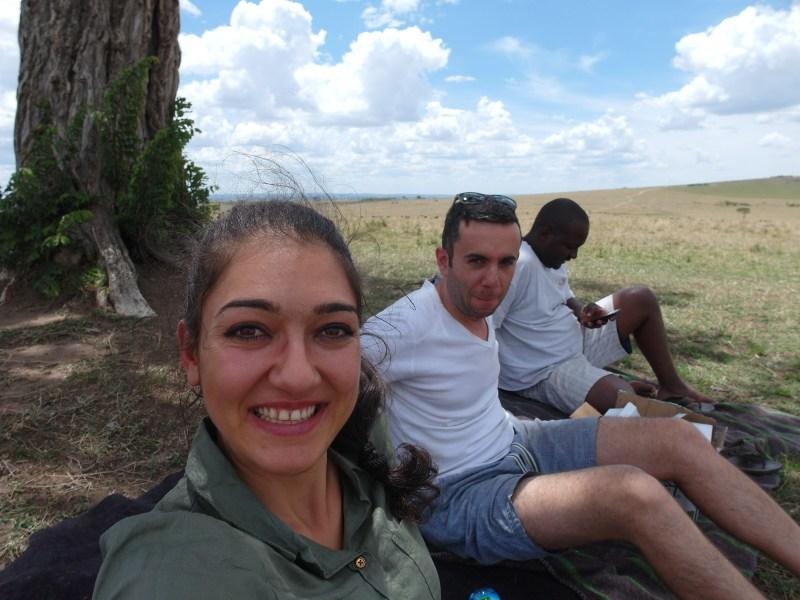Пикник сред Масай Мара, Кения