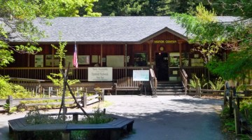 Humboldt Redwoods Interpretive Center, Weott