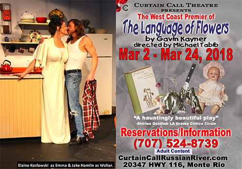 CURTAIN CALL THEATRE PRESENTS Gavin Kayner's The Language of Flowers