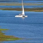 Pau Hana Sailing Catamaran (Outside Hilton Head)