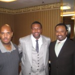 P.A. with Actor Chris Tucker & John Covington
