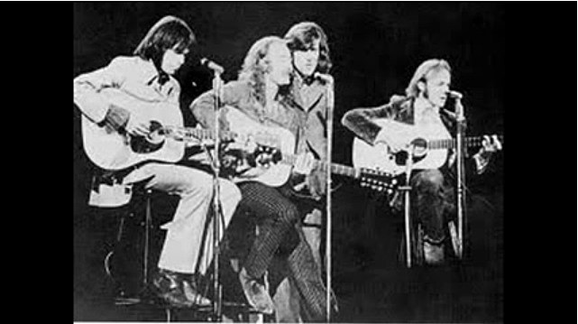 Image result for crosby stills and nash 1973