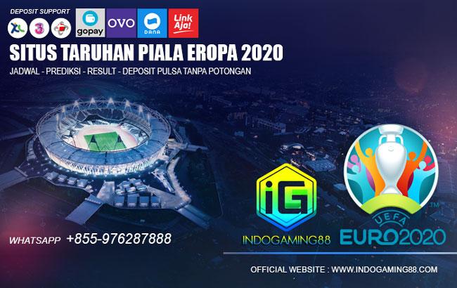 Agen Judi Bola Terpercaya Piala Eropa 2021