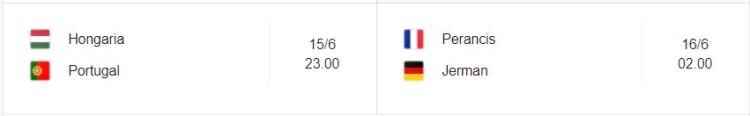 Grup F Piala Eropa 2021