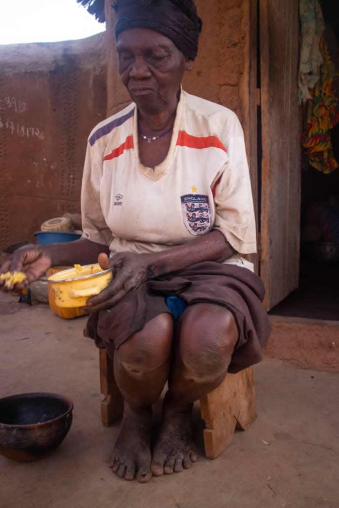 'I want to lie on a mattress before I die' old lady Yaya Kwanjit