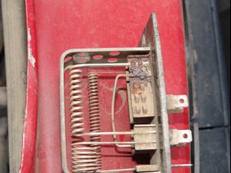 Dakota Resistor on Dodge Dakota Heater Resistor Problem