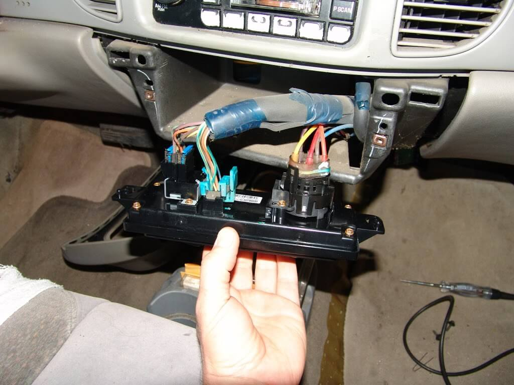 sparky\u0027s answers 2000 buick century blower will not turn offSwitches In Centre Of Car Dont Work And The Blower Will Not Turn #2