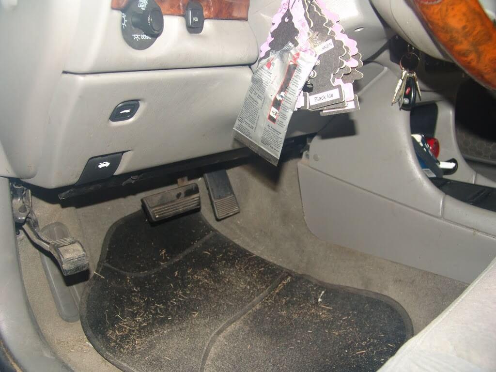 2004 chevrolet impala no heat driver s side code b0408