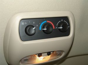 Sparky's Answers  2004 Chevrolet Tahoe, Rear Blower Will Not Turn Off
