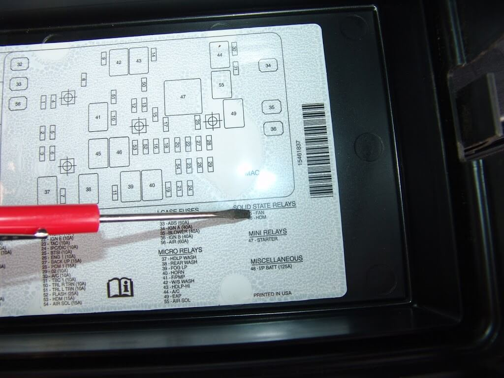 2003 Trailblazer Fuse Box Fan,Fuse.Free Download Printable Wiring ...