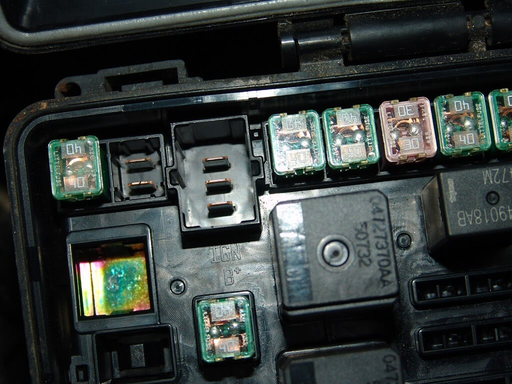 2004 Chrysler Pacifica Fuse Box