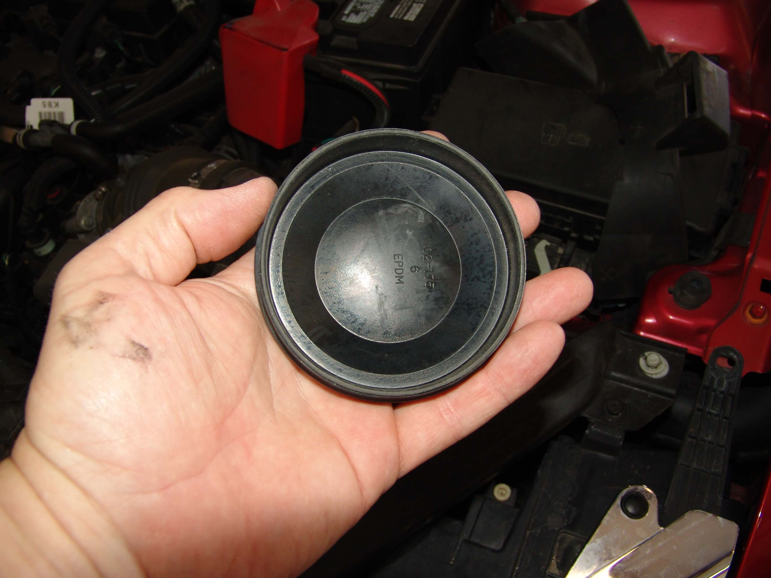 Sparkys Answers 2012 Ford Fusion Low Beam Headlight Does Not Work F 150 Fuse Disconnecting The Harness From Bulb While It Was Still Installed Too Difficult Given Size Of My Hands And Forearms