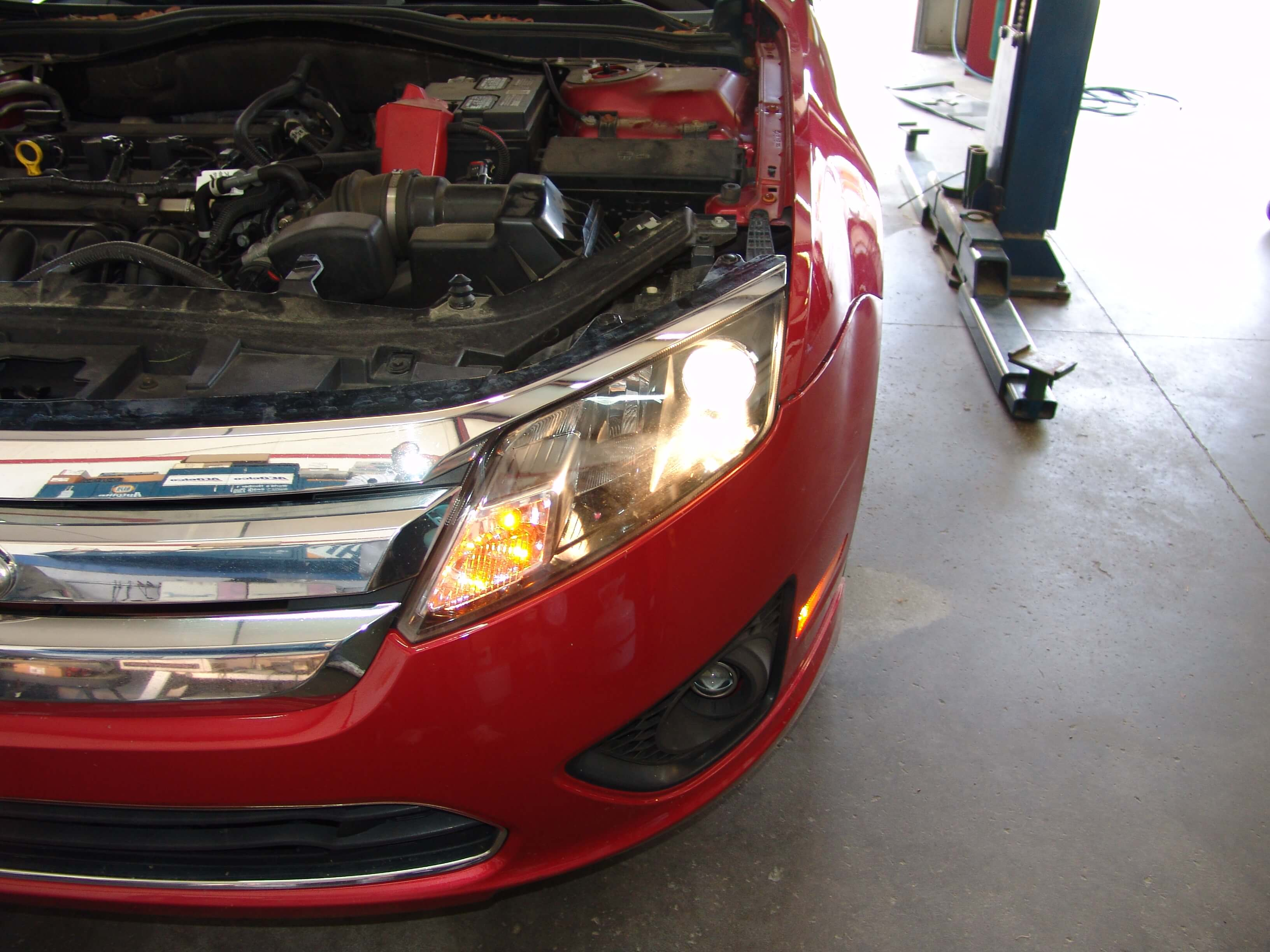 Sparkys Answers - 2012 Ford Fusion Low Beam Headlight Does