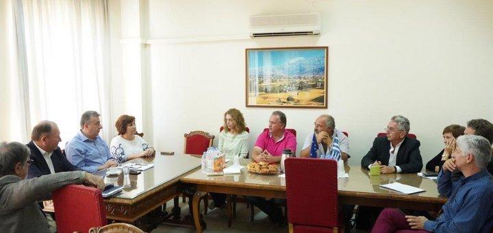 Ανακαίνιση Διοικητηρίου της Περιφερειακής Ενότητας στον Άγιο Νικόλαο
