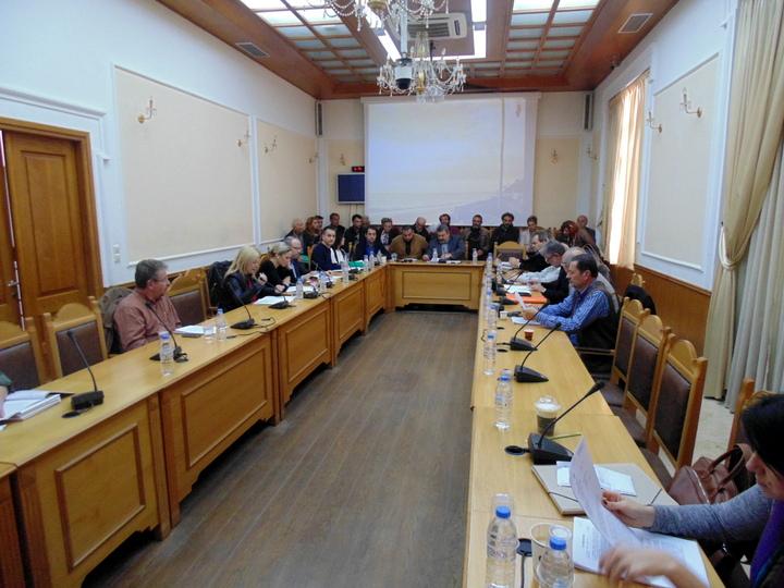 συνεδρίαση της επιτροπής περιβάλλοντος της περιφέρειας Κρήτης