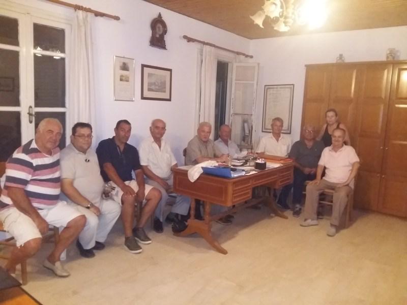 Ο Βουλευτής Λασιθίου Μανόλης Θραψανιώτης στο Καλό Χωριό