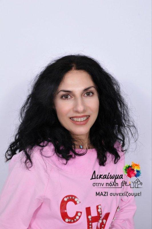 Αλεξάνδρα Μαυρομάτη, ανακοίνωση υποψηφιότητας
