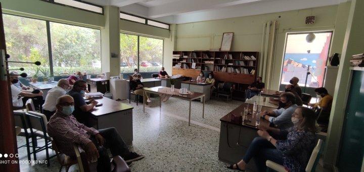 Επίσκεψη Διευθυντή δευτεροβάθμιας εκπαίδευσης στη Νεάπολη