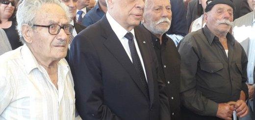 επίτιμος δημότης Βιάννου ο πρόεδρος της Δημοκρατίας