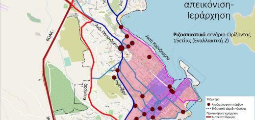 Σχέδιο βιώσιμης αστικής κινητικότητας (ΣΒΑΚ). «Ριζοσπαστική» η ανάγκη του τόπου